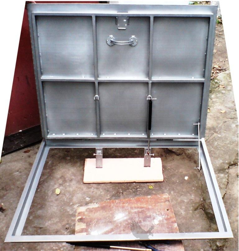 Как сделать крышку для погреба в гараже